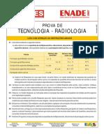 Enade 2007 - Tecnólogo Em Radiologia