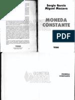 Moneda Constante - Garcia Mattera