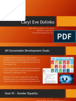gbld520 - assignment 1 - ppt- sdg goal 5 - gender equality