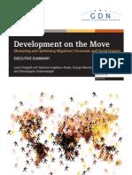Development on the Move