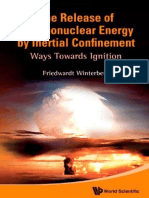 Release of Thermonuclear energy by Inertial confinement ways Towards ignition