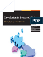 Devolution in Practice 2010 - Introduction