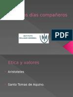 ARISTOTELES Y SANTO TOMAS DE AQUINO