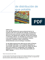 Redes de Agua Potable