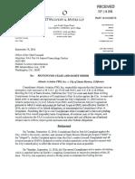 Atlantic Aviation FBO, Inc. v. City of Santa Monica - Mot. for Cease and...