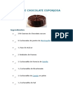 Torta de Chocolate Esponjosa