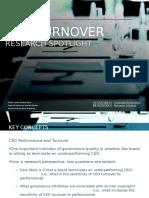 CEO Turnover - Research Spotlight