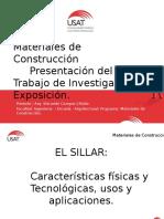 Materiales de Cosntruccion- SILLAR