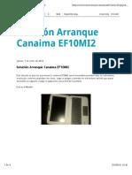 Arranque Canaima