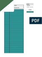 Plantilla de Excel Para Inventario Bar
