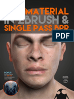 A Guide to - Skin Material With ZBrush and Single Pass BPR_PabloMunozG