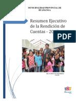 Resumen Ejecutivo Rendicion Cuentas 2015