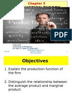 Presentation - Chapter 5