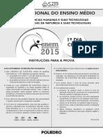 ENEM 2015 - Ciclo 5 Gabarito