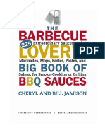 The Barbecue Lover's Big Book of BBQ Sauces