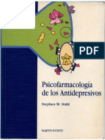 Psicofarmacologia de Los Antidepresivos - Stahl