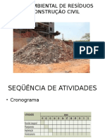 Gestão Ambiental de Resíduos Da Construção Civil