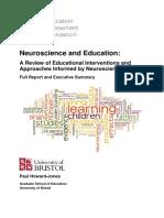 Neuroscience And Education