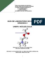MANUAL DE PRÁCTICAS DE LABORATORIO DE QUÍMICA ORGANICA I.doc