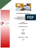 Avance Derecho Minero Total