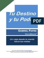 Tu Destino y Tu Poder - Gabriel Papini