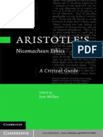 Jon Miller Aristotles Nicomachean Ethics a Critical Guide 2011