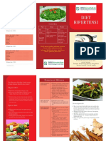 Brosur Diet Hipertensi