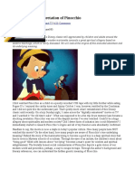 Esoteric Meaning of Pinnochio
