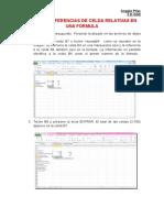 Utilizar Referencias de Celda Relativas en Una Fórmula