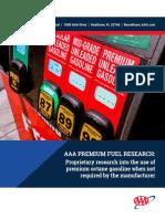Premium Fuel Report Final