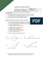 Evaluacion prueba sexto