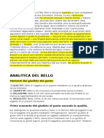 Analitica Del Bello