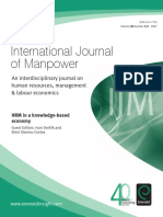 International Journal of ManPower