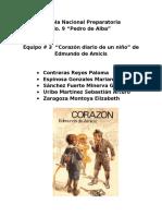 Corazon [Diario de un niño]