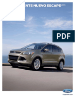 Manual Ford Escape 2013