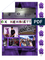 GX NEwsletter June 2010