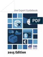 Philippine Export Guidebook 2015 Edition