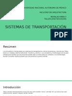 8. Sistemas de Transportación Vertical