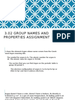 3.02 Group Names and Properties Assignment