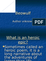 Beowulf Notes