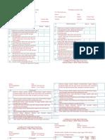Lembar Pre Test Dan Post Test (Penyuluhan SD)