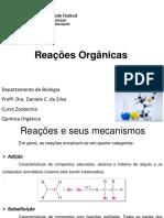 ReaçoEs OrgaNicas