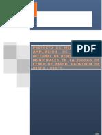 PROYECTO DE MEJORAMIENTO Y AMPLIACION DE LA GESTION INTEGRAL DE RESIDUOS SOLIDOS MUNICIPALES EN LA CIUDAD DE CERRO DE PASCO, PROVINCIA DE PASCO - PASCO.docx