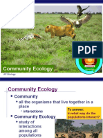 Community Ecology Powerpoint