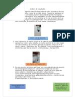 Informe Quimica 2 REDOX Parte 2 Analisis