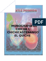 Monografia de Chicua i