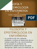 Filosofía y Epistemiología de La Enfermería