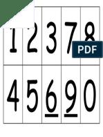 Numeros Para Bingo Del 9