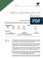 Bibliografía Física e Intro a La Biofísica 2016