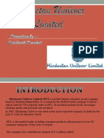 Hindustan Uniliver Limited